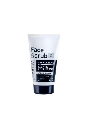 Ustraa Face Scrub Anti Pollution 100 gm