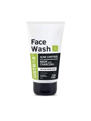 Ustraa Face Wash Neem & Charcoal 100 gm