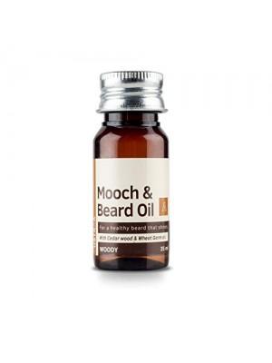 Ustraa Mooch & Beard Oil Woody 35 ml