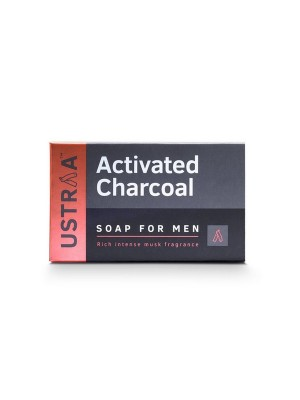 Ustraa Soap Activated Charcoal 100 gm