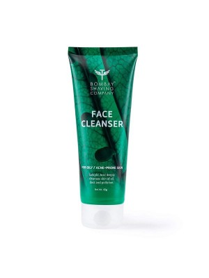 Bombay Shaving Company Anti-Acne Face Cleanser, With Salyclic Acid For Oily Skin, 45 gm