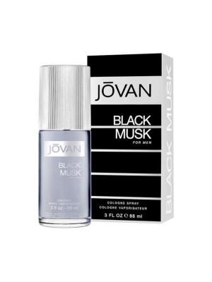 Jovan Eau De Cologne Black Musk Men 88 ml