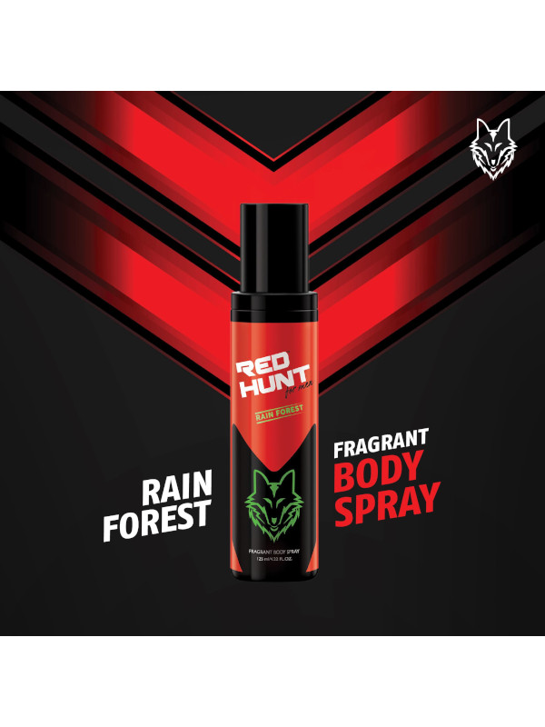 Red Hunt Body Spray Rain Forest (125 ml)