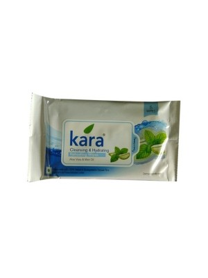 Kara Sunscreen Plum & Aloe Vera Face Wipes - 10 Wipes
