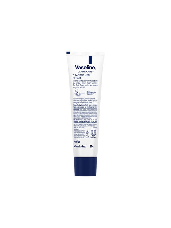 Vaseline Derma Care Cracked Foot Repair Cream 25 gm