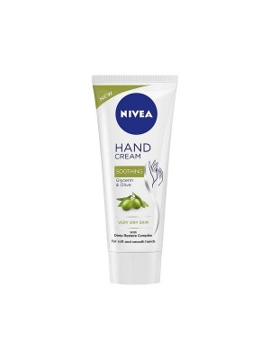 Nivea Hand Cream Soothing Glycerin & Olive 75 ml