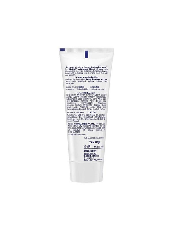 Nivea Hand Cream Indulging Glycerin & Beeswax 75 ml