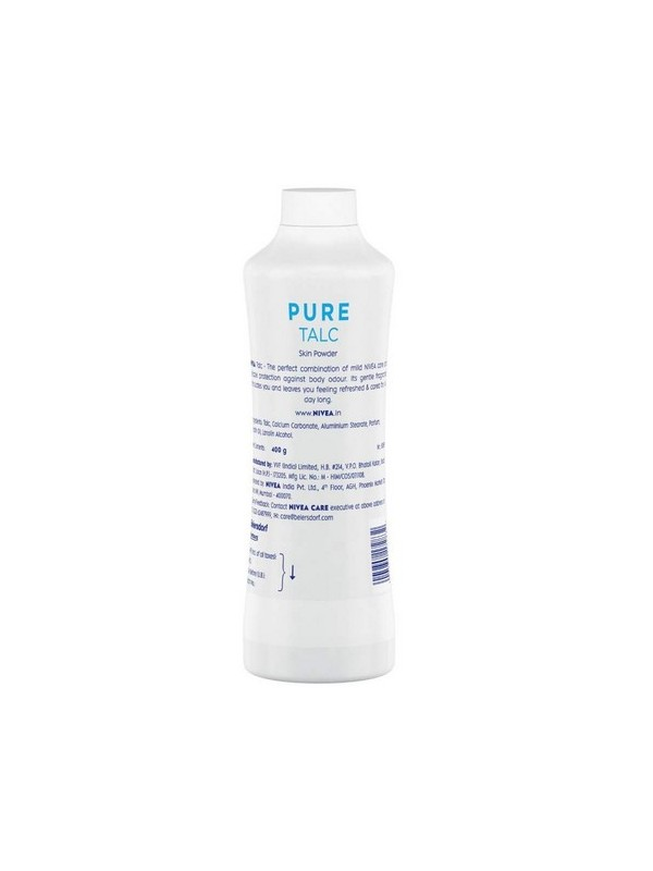 Nivea Talc Pure 400 gm