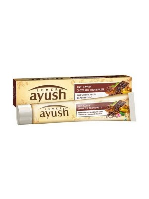 Lever Ayush Anti Cavity Clove Oil Toothpaste 80 gmm