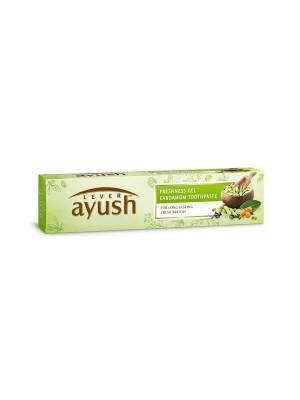 Lever Ayush Freshness Gel Cardamom Toothpaste 80 gmm