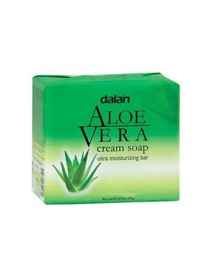 Dalan Cream Soap - Aloe Vera (90 gm x 3)