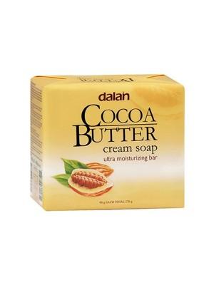 Dalan Cream Soap - Cocoa Butter (90 gm x 3)