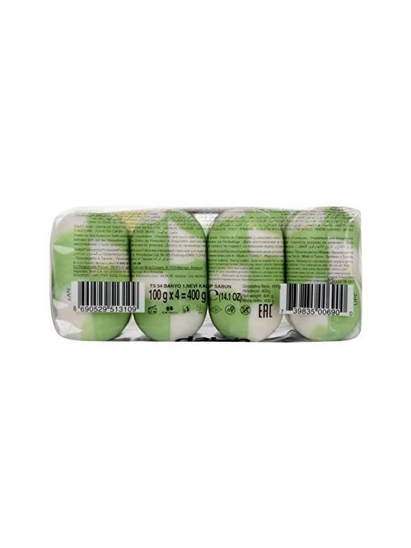 Dalan Fruits Creamy Beauty Soap - Green Apple (100 gm X 4)