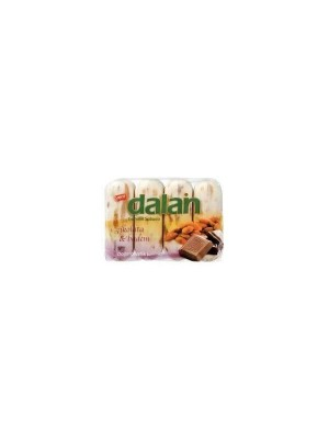 DALAN  Beauty Soap-Chocolate & Almond (90 g X 4) 90gm
