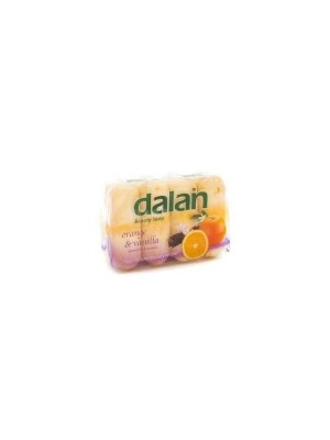DALAN  Beauty Soap - Orange & Vanilla (90 g X 4) 90gm