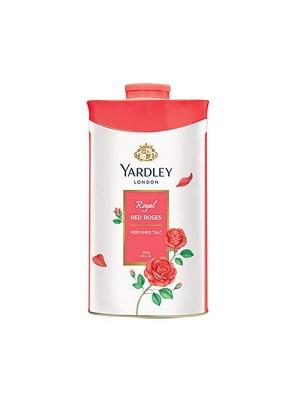 Yardley London Red Rose Talc For Women - 100 Gm