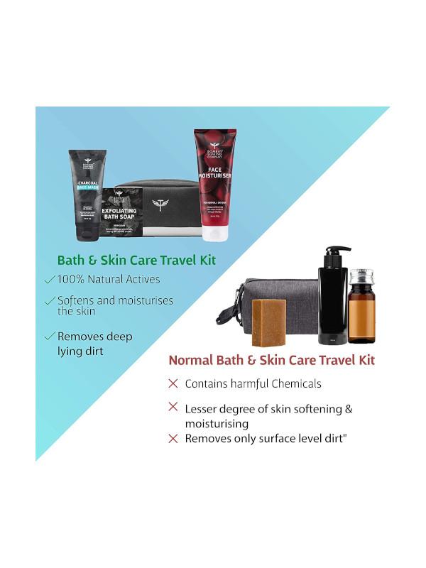 Bombay Shaving Company Bath & Skin Travel Pack
