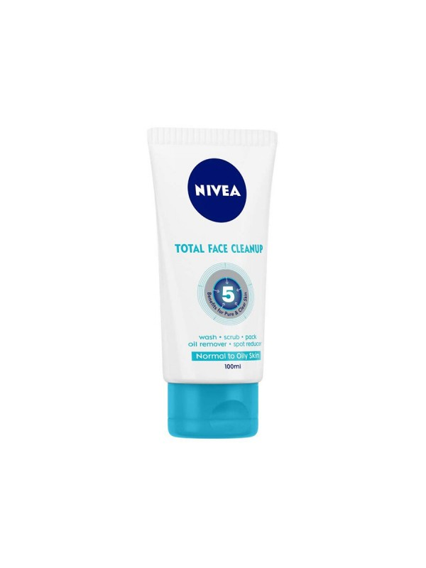 Nivea Total Face Cleanup 100 ml