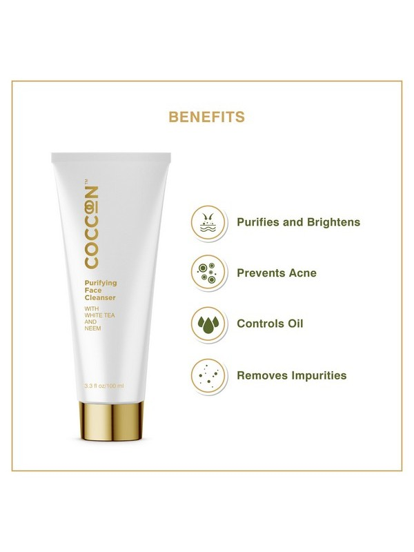 Coccoon Purifying Face Cleanser 100gm