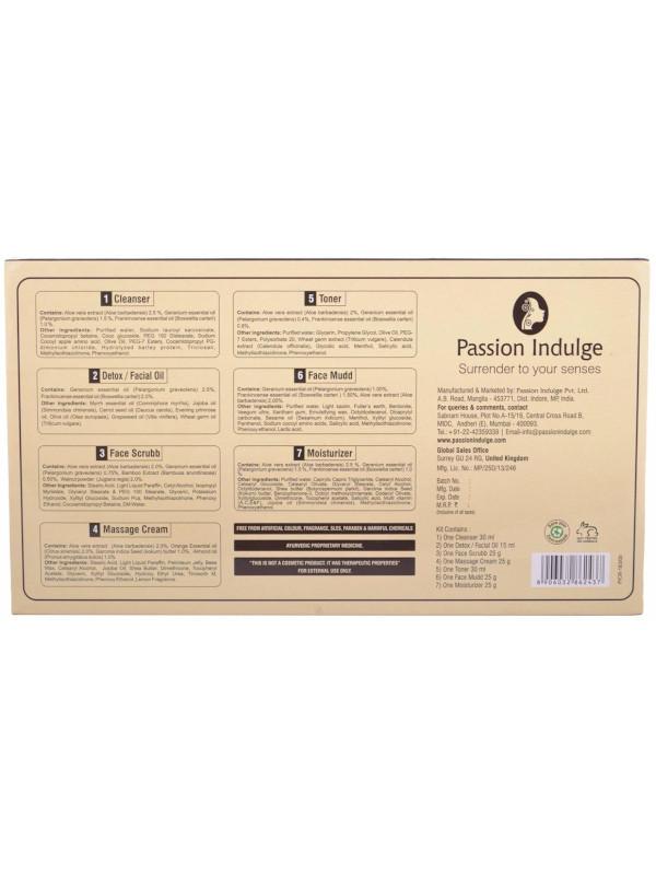 Passion Indulge Anti-Ageing Eternia 7 Star Facial Kit (Buy 1 Get 1 Free) 500 gm