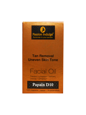 Passion Indulge Papain D10 Facial Oil 10 ml