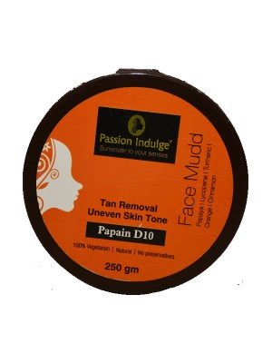 Passion Indulge Papain D10 Face Mudd Pack 250 gm