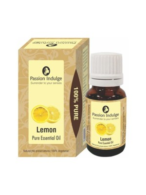 Passion Indulge Lemon Pure Essential Oil 10 ml