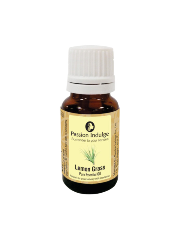 Passion Indulge Lemongrass Pure Essential Oil 10 ml