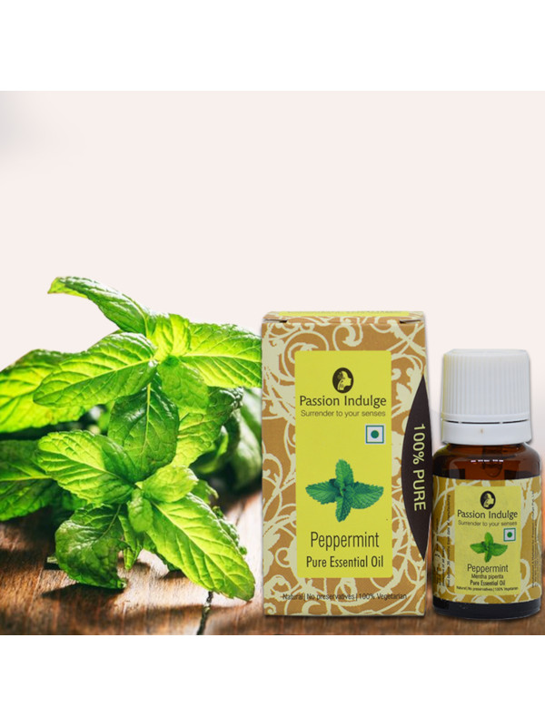 Passion Indulge Peppermint Pure Essential Oil 10 ml