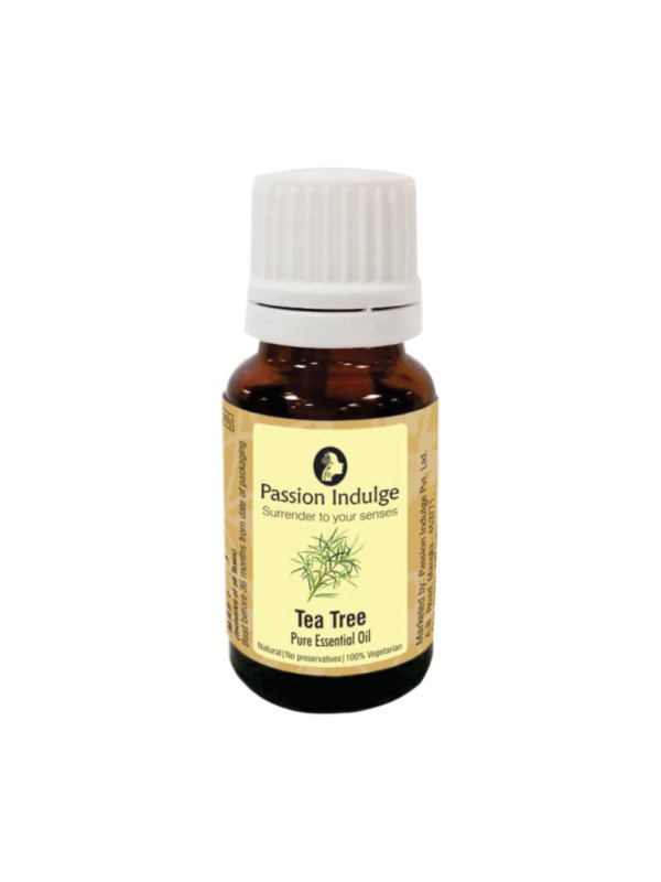 Passion Indulge Tea Tree Pure Essential Oil 10 ml