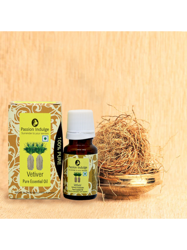 Passion Indulge Vetiver Pure Essential Oil 5 ml