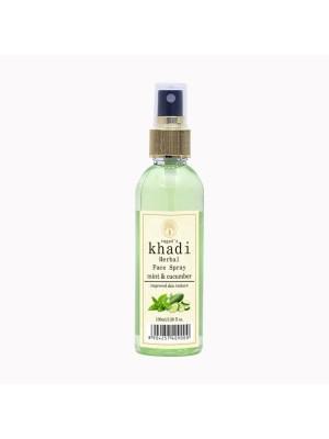 Vagad's Khadi Mint Cucumber Face Spray 100 ml