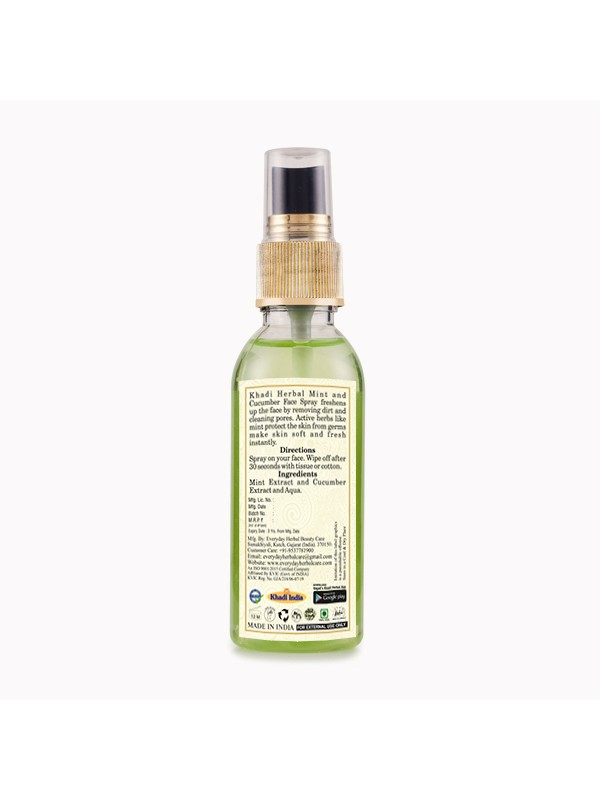 Vagad's Khadi Mint Cucumber Face Spray 50 ml