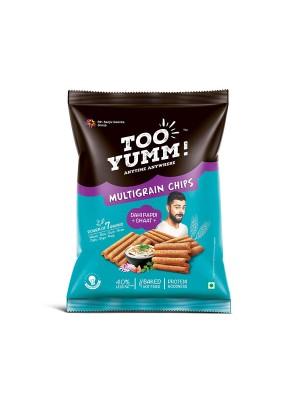 Tooyumm Multigrain Chips, Dahi Papdi Chaat (54 gm)