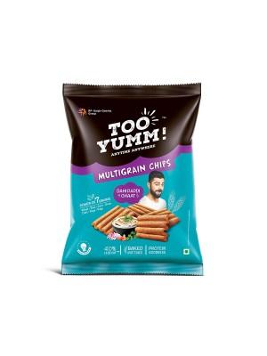 Tooyumm Multigrain Chips, Dahi Papdi Chaat (82 gm)