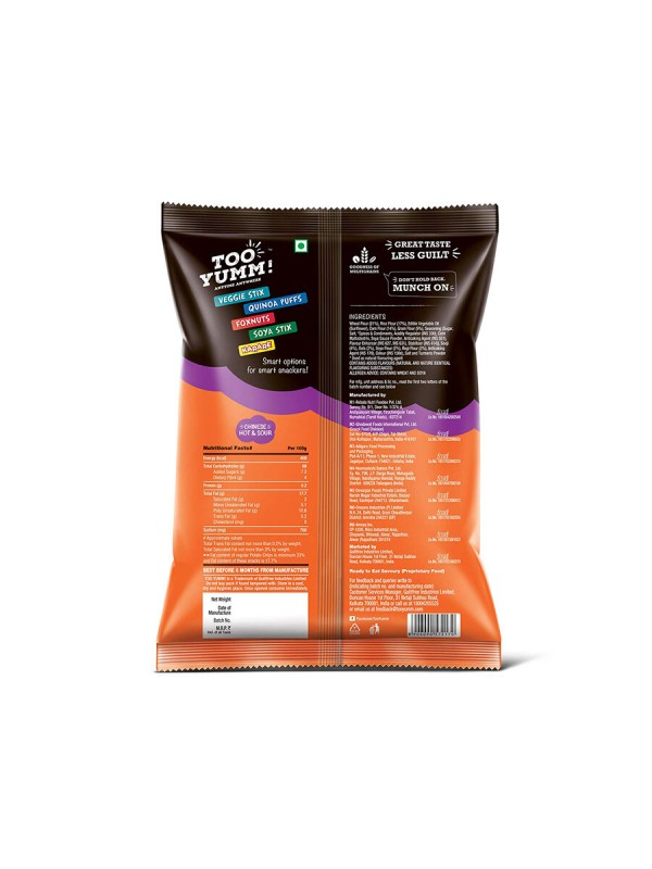 Tooyumm Multigrain Chips Chinese Hot & Sour (82 gm)