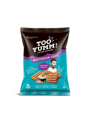 Tooyumm Multigrain Chips, Dahi Papdi Chaat (28 gm)