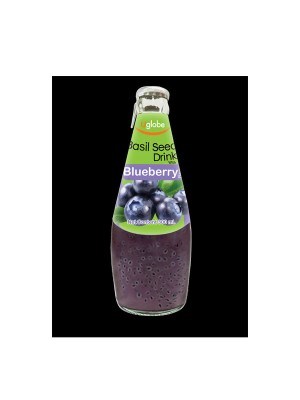 U Globe Basil Seed Drink Blueberry (300 ml)