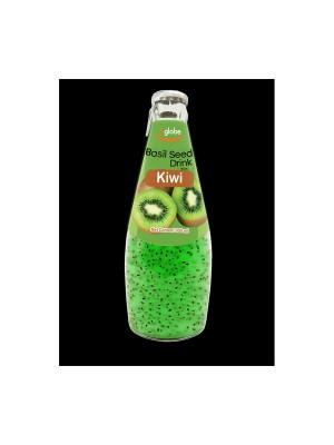 U Globe Basil Seed Drink Kiwi (300 ml)