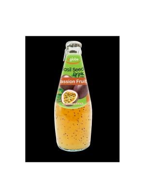 U Globe Basil Seed Drink Passion Fruit (300 ml)