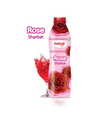 Shree Guruji Rose Sharbat 750 ml