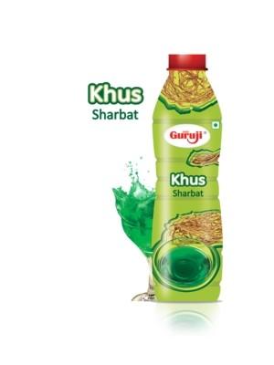 Shree Guruji Khus Sharbat 750 ml