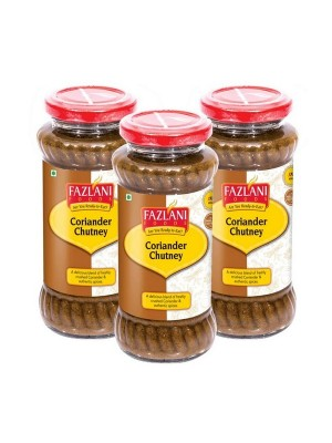 Fazlani Foods Coriander Chutney 300 gm