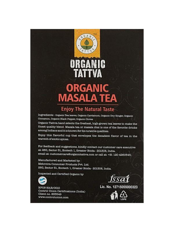 Organic Tattva Organic Masala CTC Tea 200 gm
