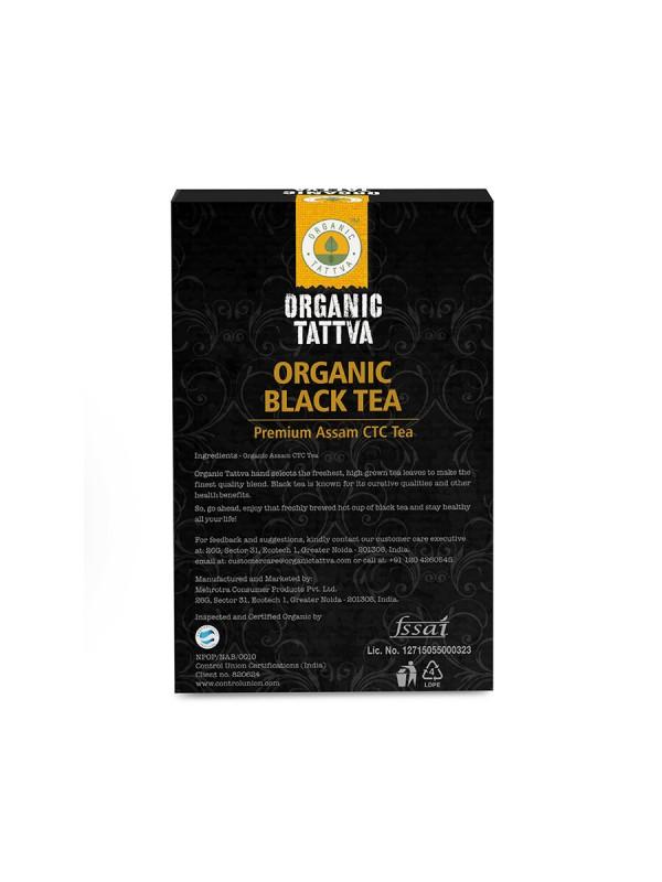 Organic Tattva Organic Black Ctc Tea 200 gm