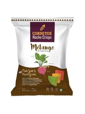 Cornitos MelangeVeggies Nachos 70 gm
