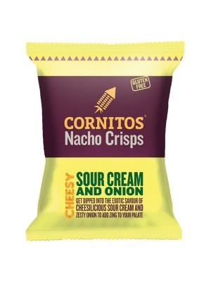 Cornitos Nacho Crisps - Sour Cream & Onion 150 gm