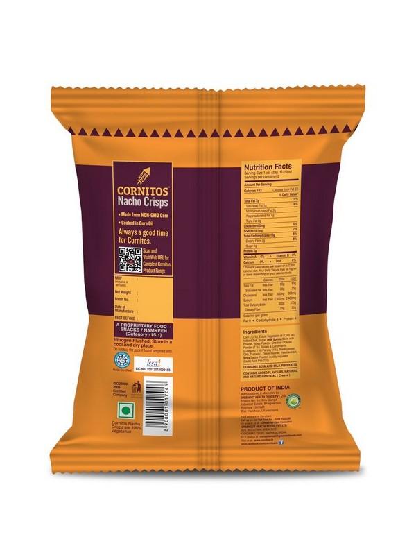 Cornitos Nacho Crisps - Cheese N Herbs 60 gm