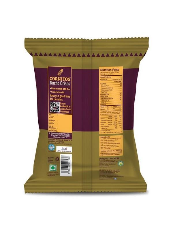 Cornitos Nacho Crisps - Sizzlin Jalapeno 150 gm