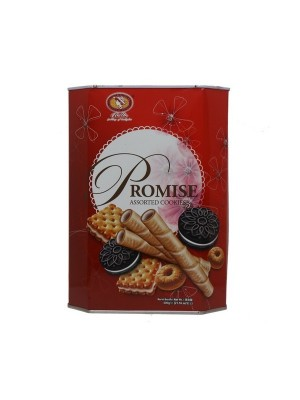 Bellie Promise Assorted Cookies (600 gm)